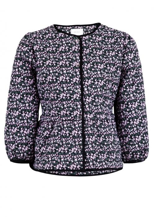 Sky flower quilt jacket LAVENDER