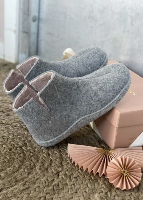 Cocun home slippers LIGHT GREY