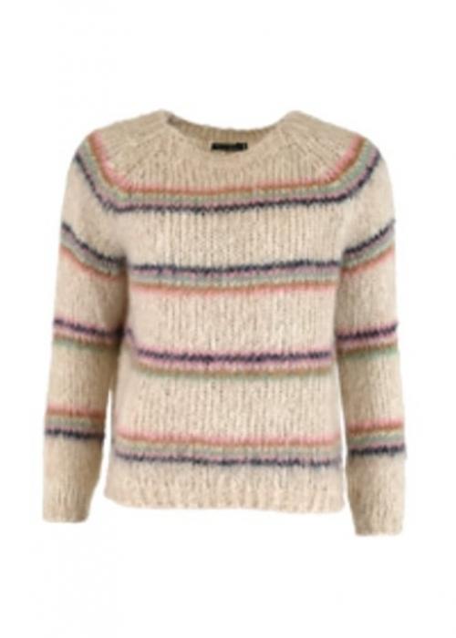 Tilde brushed sweater CREME