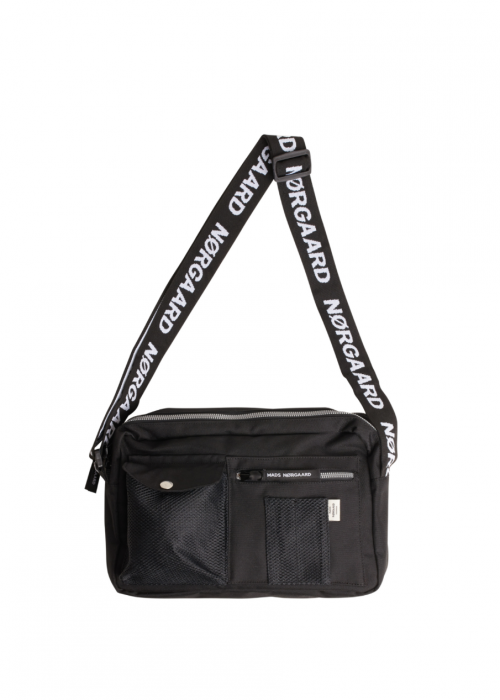 Bel collage cappa mechanics bag BLACK