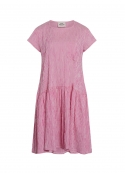 Crinkle Pop Drastica dress PINK / WHITE