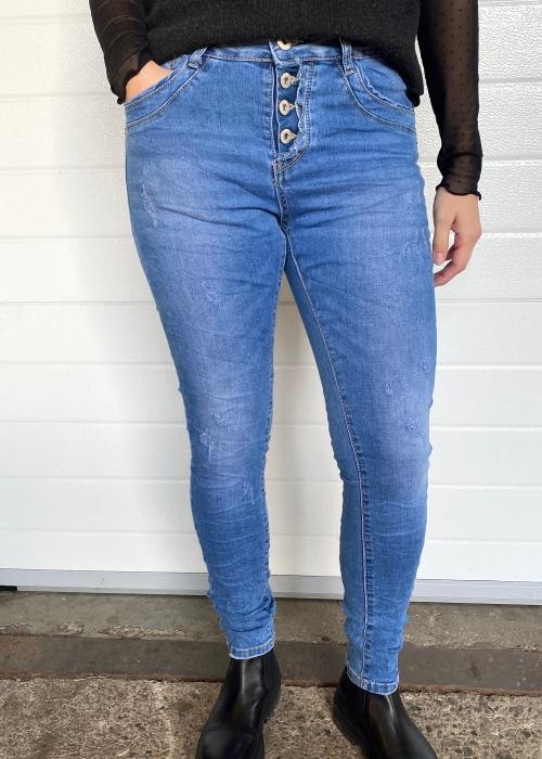 Soft button jeans 9148