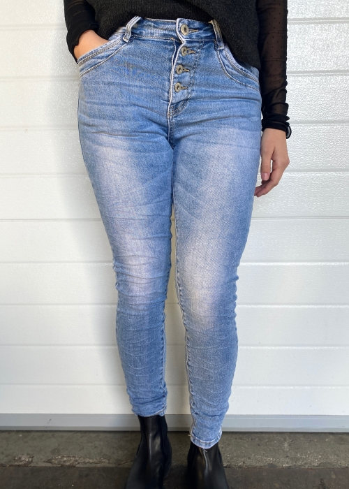 Soft Light blue jeans 26108