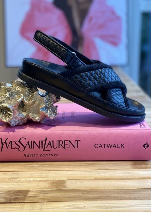 Copenhagen shoes Loreen sandal BLACK (Preorder Levering April)