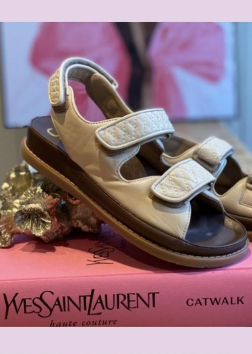 Copenhagen shoes Luxury sandal BEIGE (Preorder Levering April)