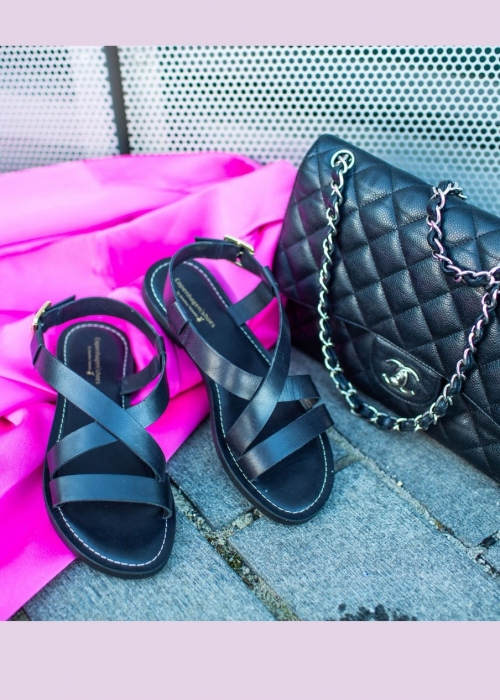 Copenhagen shoes Mari sandal BLACK (Preorder Levering April) -