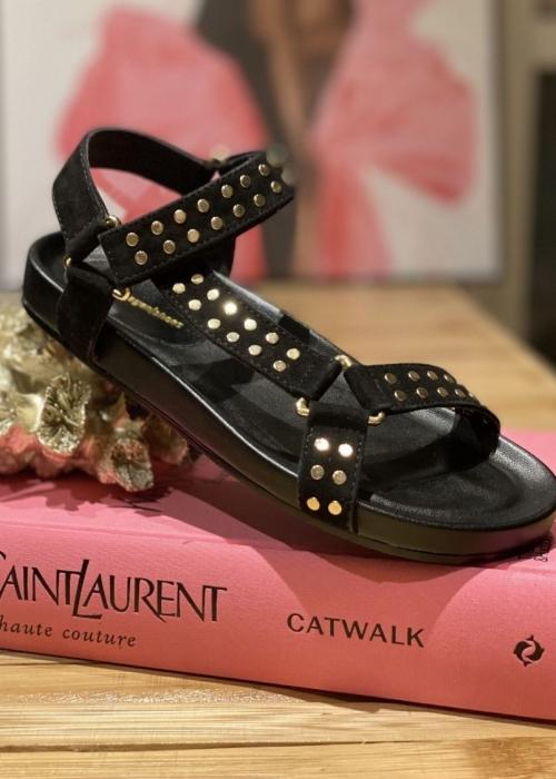 Copenhagen shoes Sweat sandal BLACK (Preorder Levering April) -