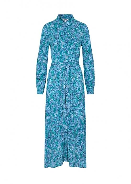 Beata dress BLUE PRINT