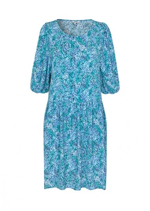 Reya dress BLUE PRINT