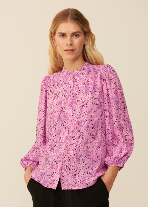 Solstice shirt blouse BEGONIA PRINT