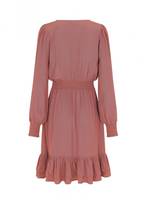 Maddalena dress CEDAR WOOD